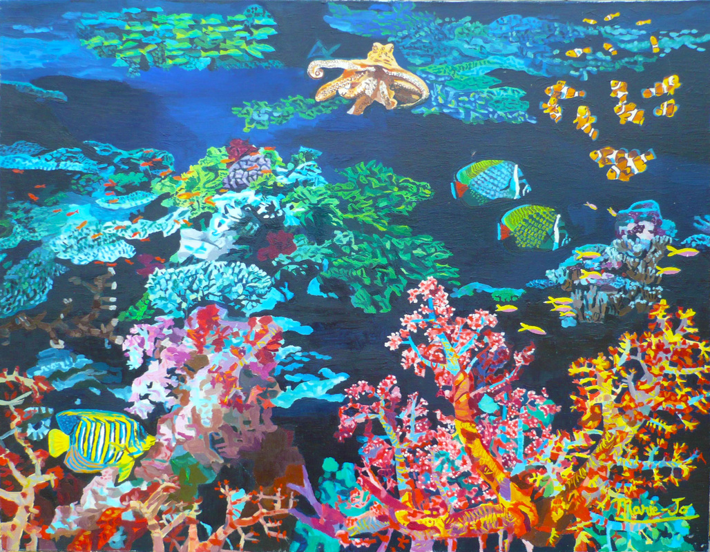 3d wallpaper aquarium